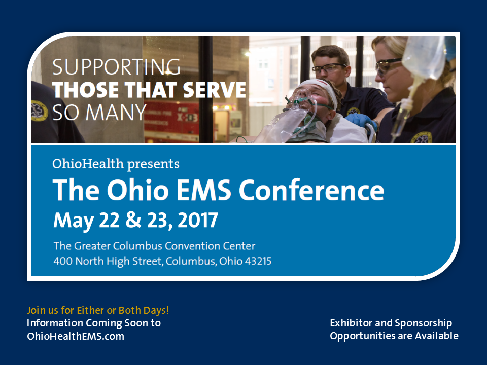 save the date flyer 2016 10 25 ohiohealth ems